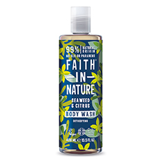 Faith in Nature Seaweed Shower Gel and Foam Bath 400ml