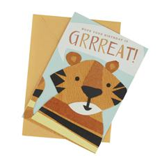 Grrreat Birthday Card (Single)