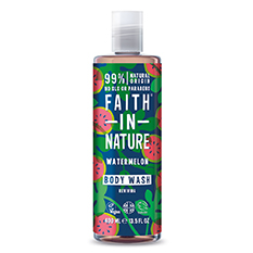 Faith in Nature Watermelon Shower Gel and Foam Bath 400ml