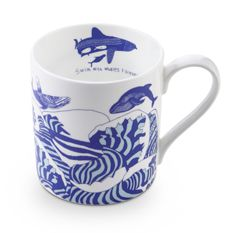 Swim with Whales Forever Mug