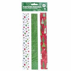 Decorative Christmas Paper Chains