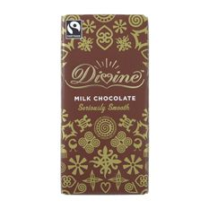 Divine Milk Chocolate: Case of 15 100g Bar