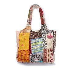 Kantha Stitch Bag