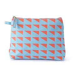 Bright Geo Wash Bag