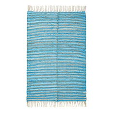 Striped Jute Dhurrie Rug