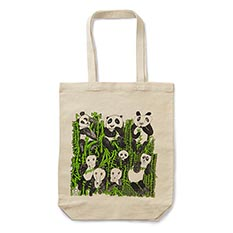 Panda Shopping Bag