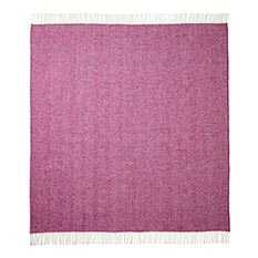 Cherry Wool Throw