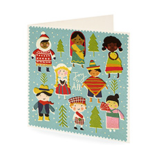 Children of the World Christmas card (10 pack)