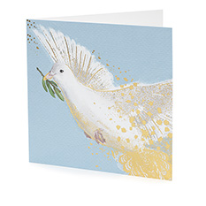 Large Dove Christmas Card (10 Pack)