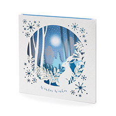 Luxury Snowy Animals Christmas Card (5 Pack)