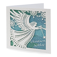 Luxury Angel Christmas Cards (5 Pack)