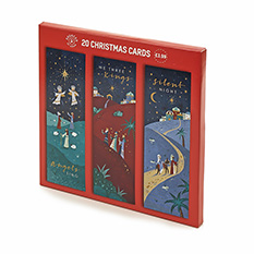 Value Religious Slim Christmas cards (20 pack)