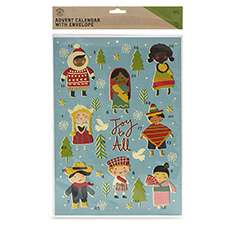 Children of the World Paper Advent Calendar