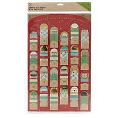 Large Nativity Puppet Advent Calendar