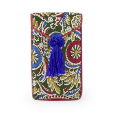 Handmade Paisley Phone Pouch