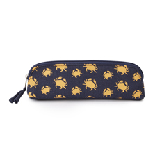 Crab Print Cosmetics Case