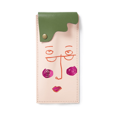 Faces Glasses Case