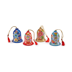Set of four kashmiri bells