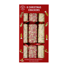 Festive Foliage Christmas Crackers (6 pack)