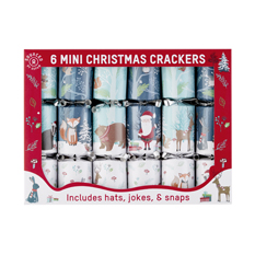 Mini Christmas Crackers (6 pack)
