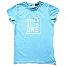Stand As One T-shirt: Unisex Medium