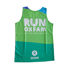Run Oxfam vest: Men Small