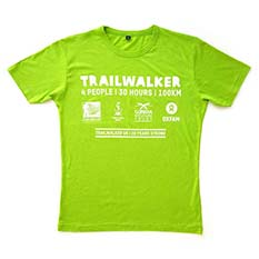 Trailwalker T-shirt: Unisex XXL