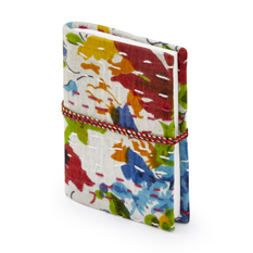 Kantha Stitch Notebook White