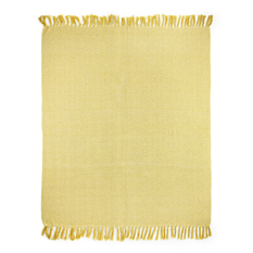 Ochre Recycled Cotton Throw