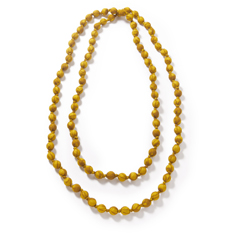 Gold Recycled Sari Necklace