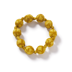 Gold Recycled Sari Bracelet