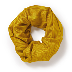 Gold Recycled Sari Loop Scarf