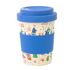Reusable Bamboo Travel Coffee Cup - The Moomins
