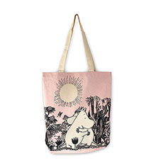 The Moomins Hug Shopping Tote Bag
