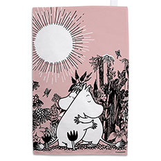 The Moomins Hug Teatowel
