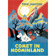 The Moomins Comet in Moominland Book