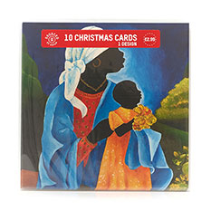 Mother and Child Christmas card (10 pack)