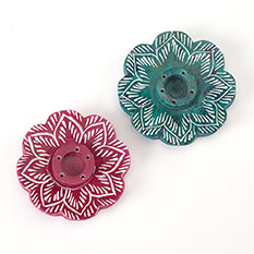 Mandala Incense holders Twin Pack