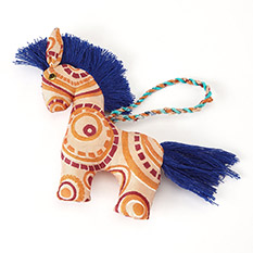 Sari Horse Christmas Decoration
