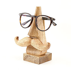 Mango Wood Glasses Holder