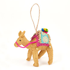Camel Christmas Decoration