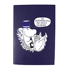 Moomins Navy Notebook