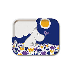 The Moomins Butterfly Birchwood Tray