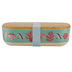 Bamboo Lunchbox Mint Shell