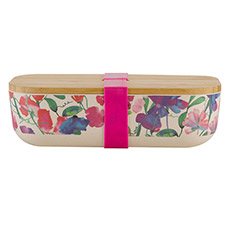 Bamboo Lunchbox Sweet Pea Pink