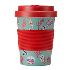 Bamboo Cup 350ml Mint Shell