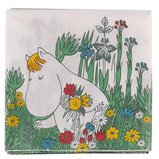 The Moomins Spring Flowers Napkins