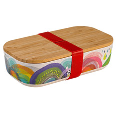 Rainbow Bamboo Lunchbox