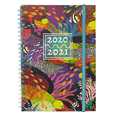 Underwater A5 Mid-Year Diary 2020-2021