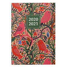 Birds A5 Mid-Year Diary 2020-2021